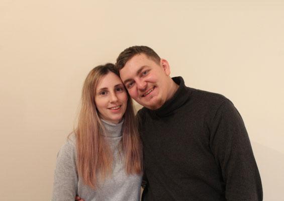 Marian Tcaciuc, fondator BijuBOX, alături de soția sa, Ramona