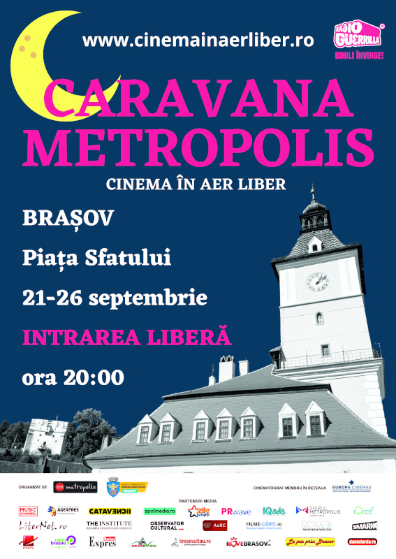 Metropolis - cinema în aer liber Brasov 2021