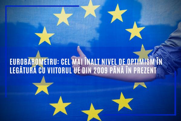 Eurobarometru: Cel mai înalt nivel de optimism în legătură cu viitorul UE