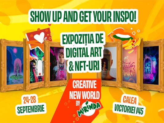 Mirinda prima colecție de NFT susținută de un brand din România