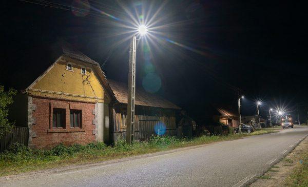 Enel X România a modernizat infrastructura de iluminat public din Gurahonț, județul Arad