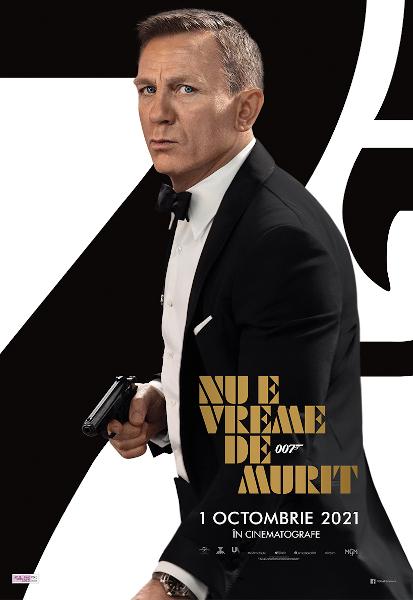 """""""No Time to Die / Nu e vreme de murit"""" Bond 2021"""