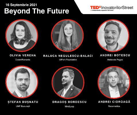speakeri TEDxInovatorilorStreet – Beyond the Future