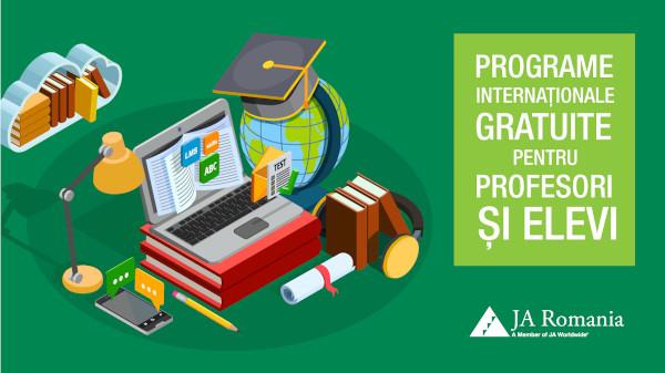 Programe și proiecte educaționale oferite gratuit școlilor de Junior Achievement România
