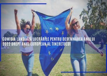 Comisia lansează lucrările pentru desemnarea anului 2022 drept Anul european al tineretului