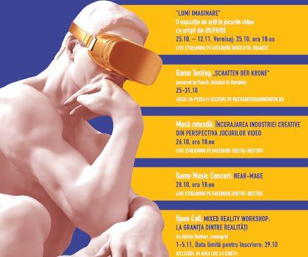 """""""Creatori virtuali – Jocuri video și realitate mixtă"""", un proiect la granița dintre realitate și virtual"""