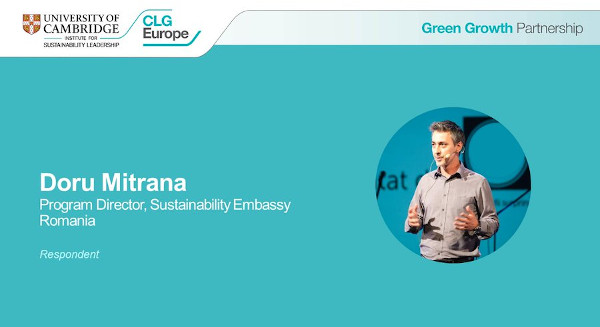 Doru Mitrana, Green Growth Summit 2021