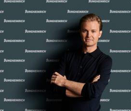 Împreună spre e-mobilitate și sustenabilitate: Nico Rosberg devine ambasadorul brandului Jungheinrich