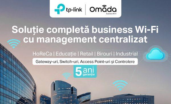 TP-Link lansează în România noul Access Point Wi-Fi 6 Dual-Band Omada EAP610, ideal pentru afacerile care vor să beneficieze de puterea Wi-Fi 6