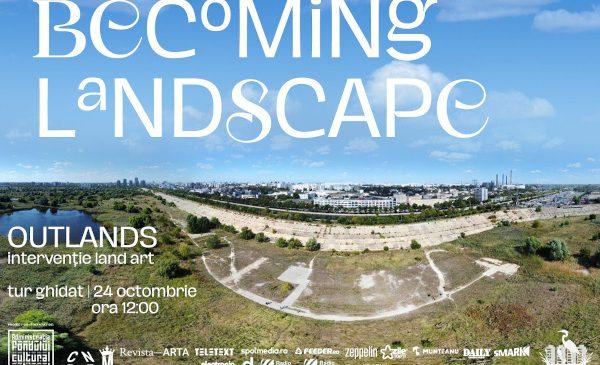 BECOMING LANDSCAPE | OUTLANDS. Mesaje cifrate și semne vizibile din aer au apărut în câmpul de papură din Parcul Natural Văcărești