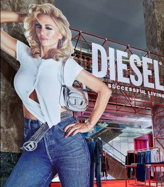 Instalaţie pop-up Diesel la Galeriile Lafayette – prezentarea în avanpremieră a colecţiei primăvară-vară 2022