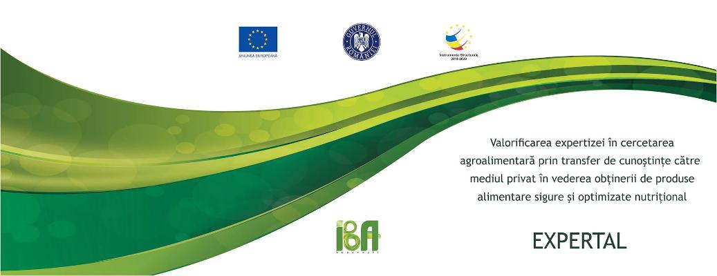Institutul Național de Cercetare - Dezvoltare pentru Bioresurse Alimentare IBA Expertal