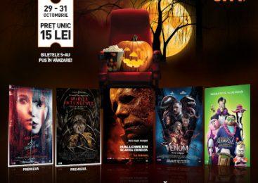 Curajos de Halloween? Cinema City a măcelarit prețurile la 5 filme noi de neratat pe Marile Ecrane