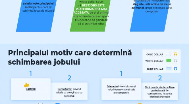 Studiu D&D Research pentru BestJobs: 61% dintre români aleg să își schimbe jobul pentru un salariu mai mare și peste 80% caută constant noi oportunități pe site-urile de joburi