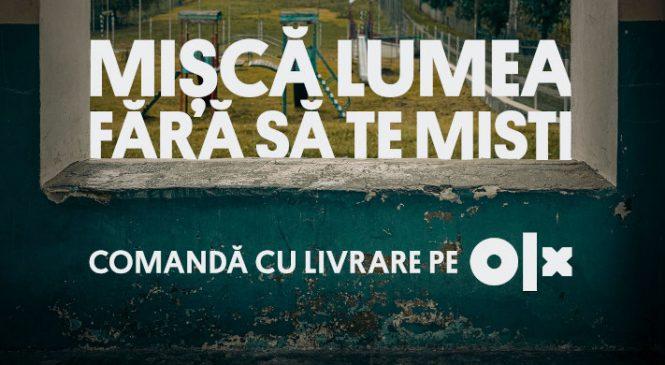Mișcă lumea fără să te miști alături de OLX și Publicis România
