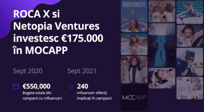 ROCA X și Netopia Ventures investesc 175.000 euro în platforma MOCAPP